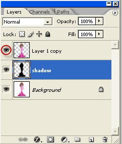 drop shadow css