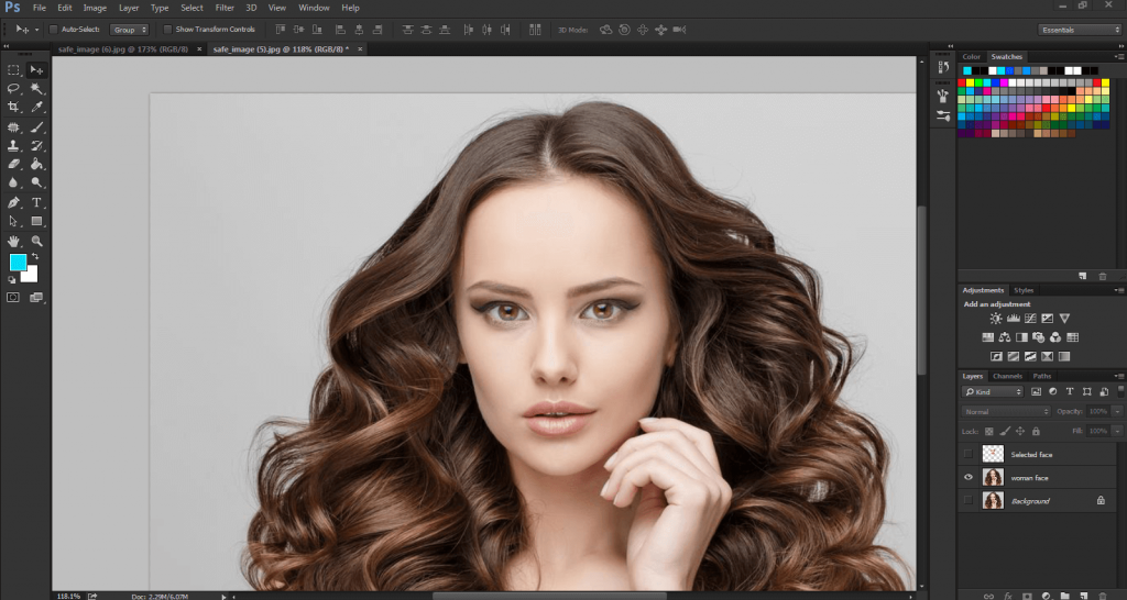 Photoshop editing services