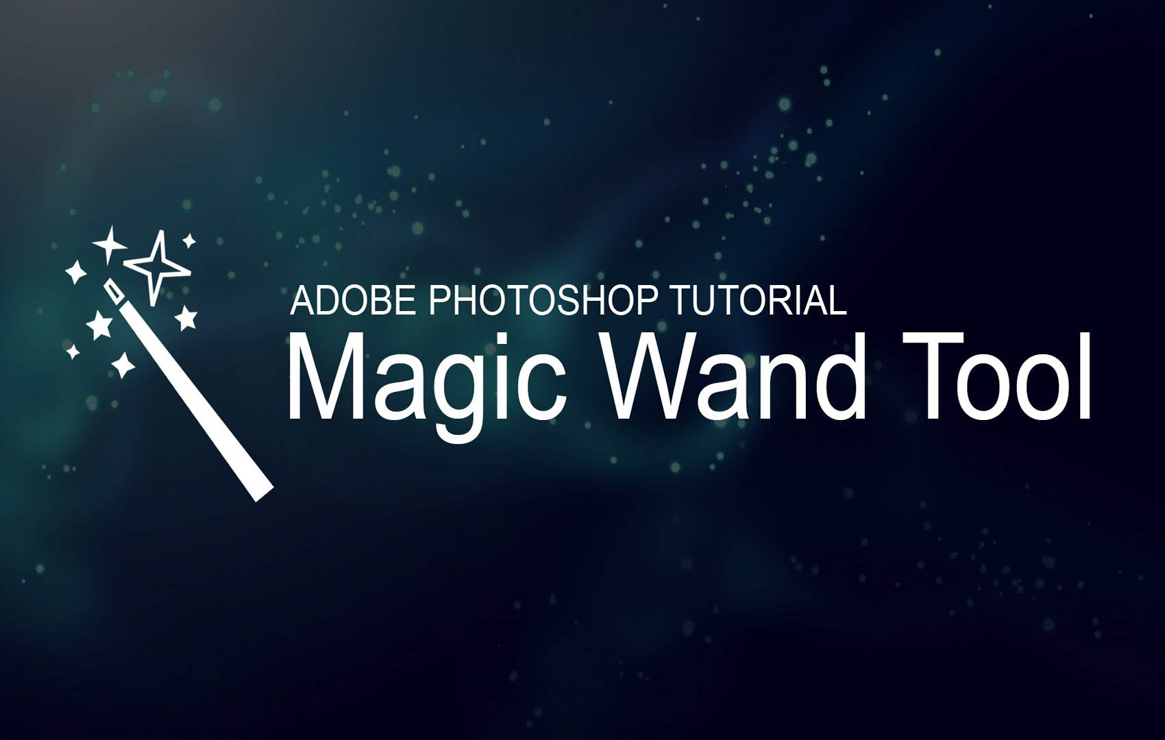 How to Remove Background Using Magic Wand Tool in Photoshop?