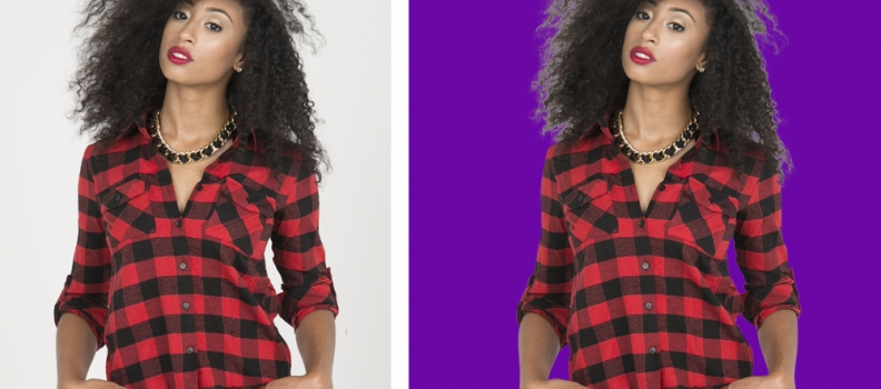 Learn How to Remove Background from Model Image-Photoshop Hair Masking