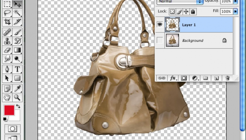 Photoshop clipping path-How to Use Pen Tool to Clip an Image
