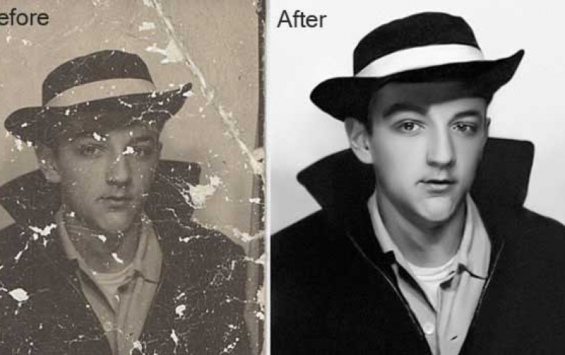 Old Photo Restoration Service and It's Importance in Digital Photography