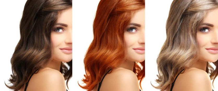 How to change hair color in Photoshop with the help of color changing service?